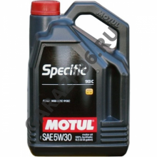 Масло MOTUL Specific FORD 913D замена 913C  5W30 5л