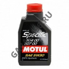 Масло MOTUL Specific VW 504.00/507.00 5W30 1л